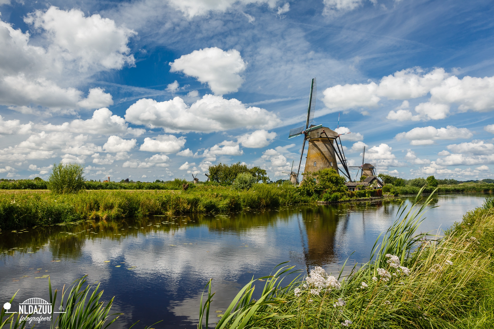 Kinderdijk, Hollandser dan Nederland vind je het niet