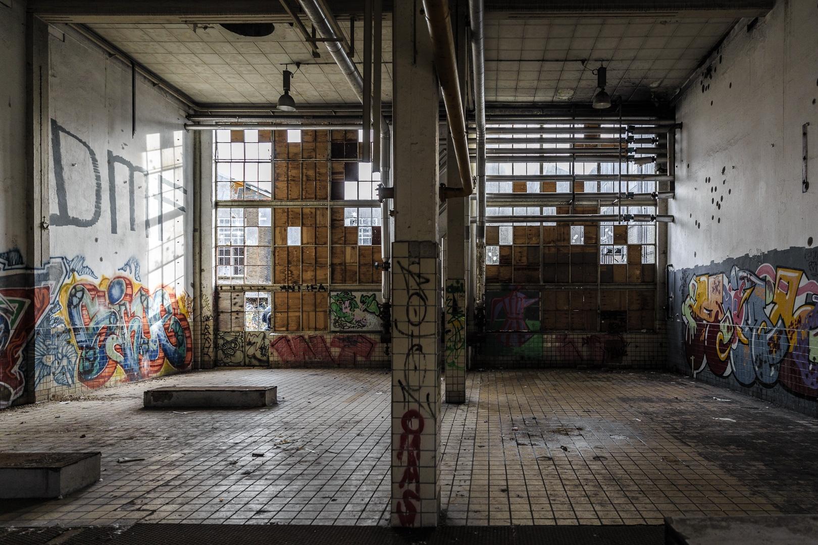 In de oude melkfabriek Arnhem