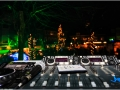 Huissen bij Kaarslicht vanaf de DJ-booth