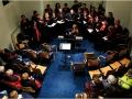 Aandacht voor muziek en zang tijdens Huissen bij Kaarslicht