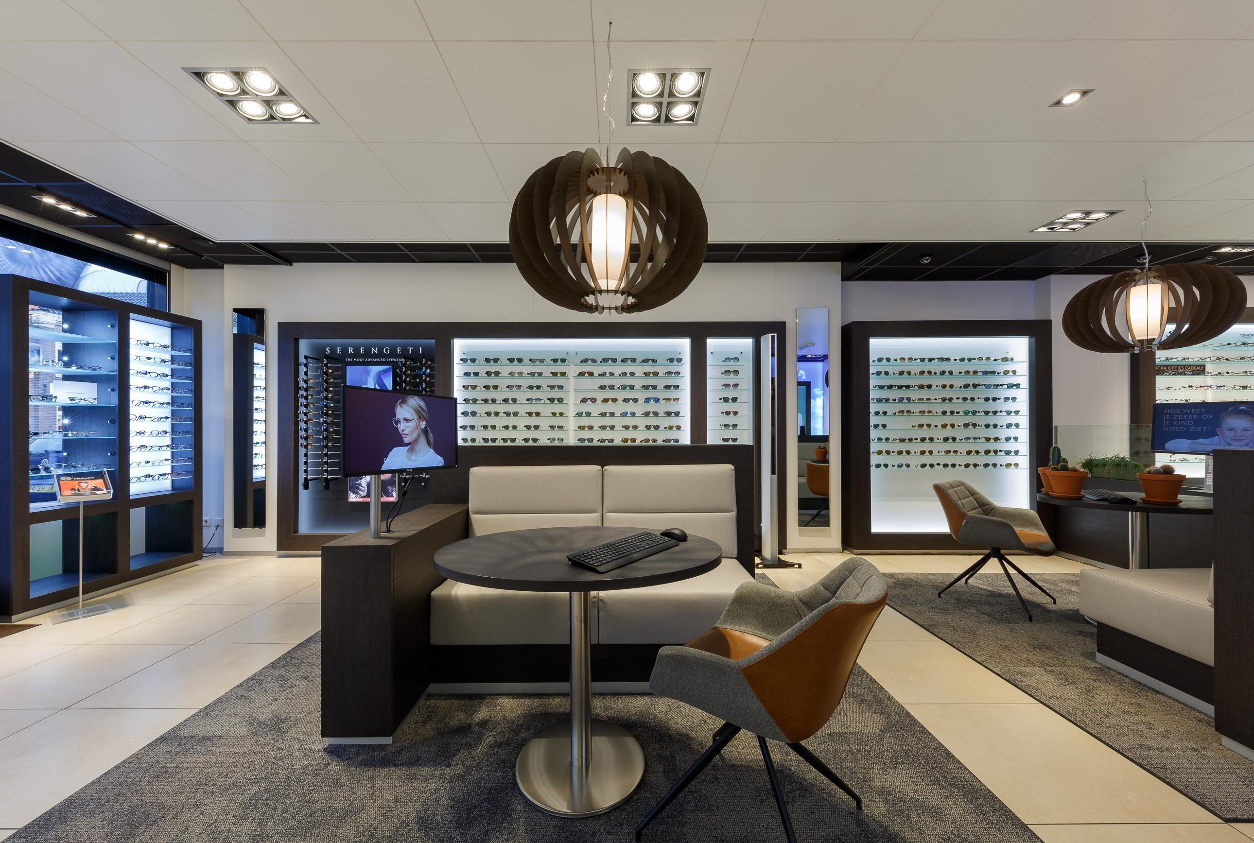 Interieurfotografie Eyecare Schagen