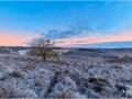 Posbank in winterse sfeer