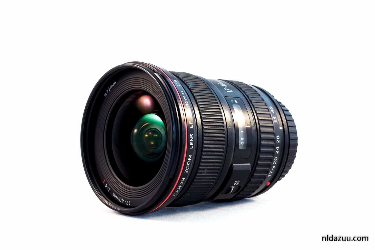 Canon groothoeklens, zoomlens, 17-40 mm. f/4
