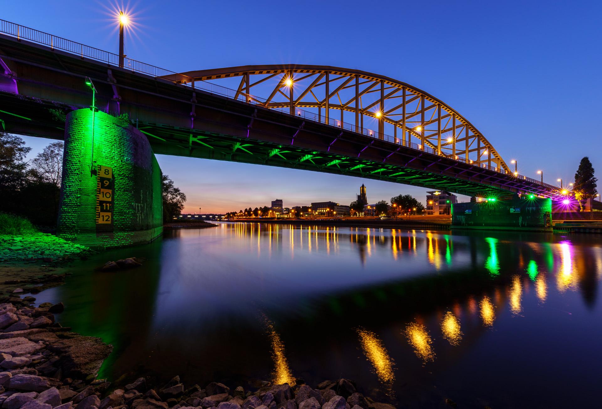 Sony A7III, Avondfotografie Arnhem, John Frostbrug