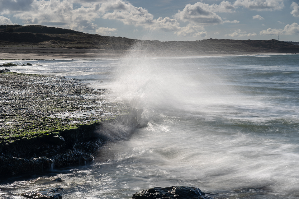 Spelen met het ritme van de golven