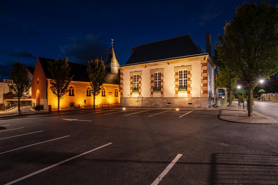 Blauwe uur in Wissant Evening glow aan de Franse Opaalkust Nord-Pas-de-Calais