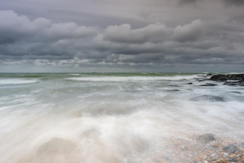 Audresselles sur Mer, Opaalkust, zeelandschap