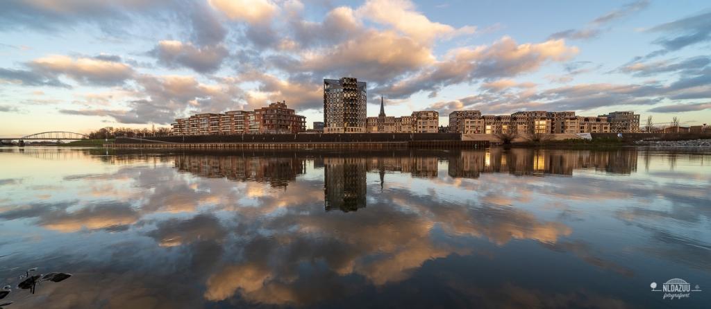 Doesburg, IJssel, gouden uur
