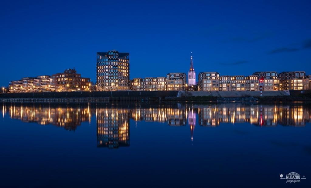 Blauwe uur fotografie, Doesburg