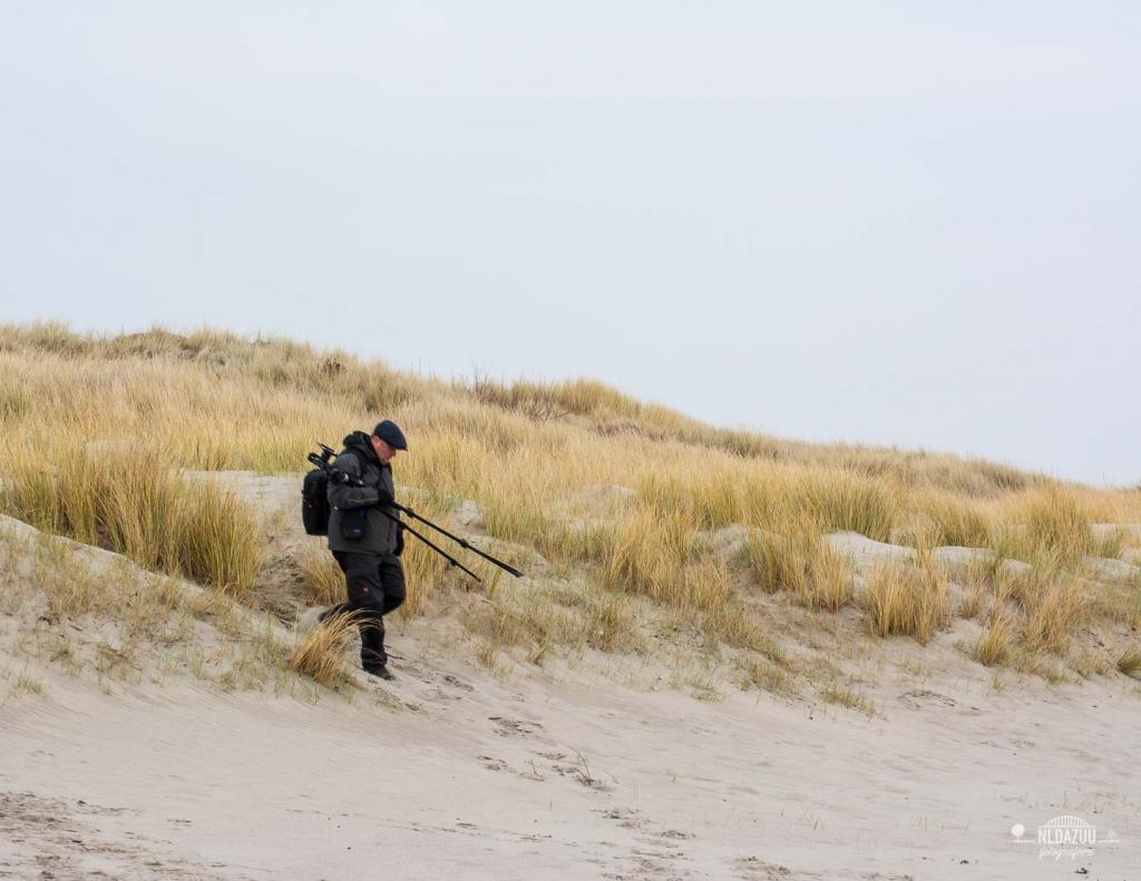 Dave Zuuring strand Westenschouwen