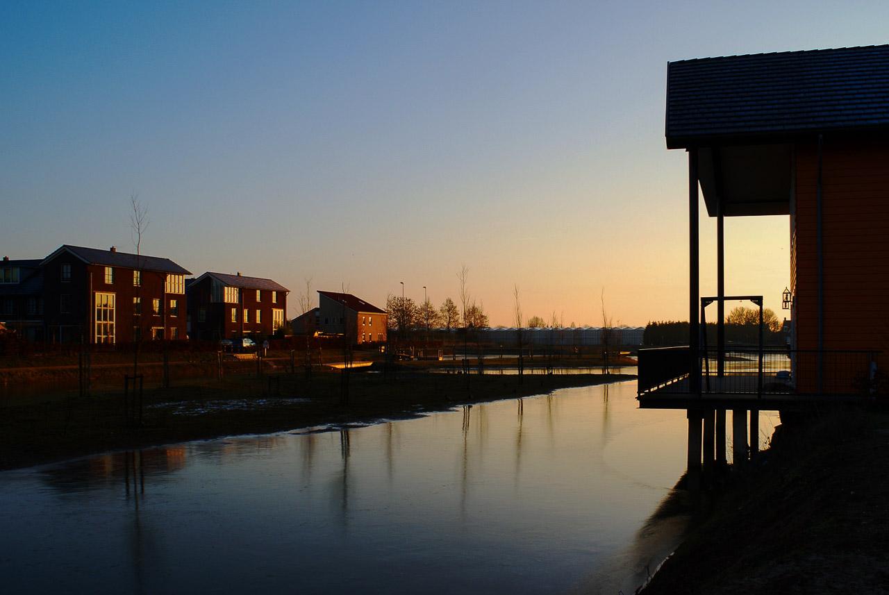 Huissen, Loovelden, de blauwe wig fotograferen om de hoek