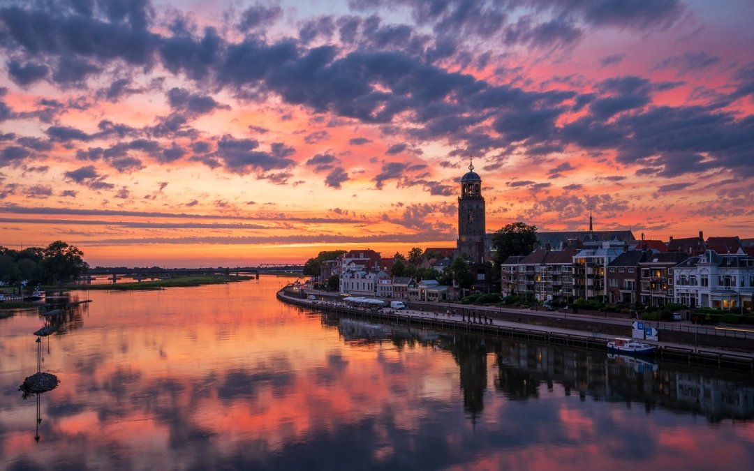 Deventer stunning sky