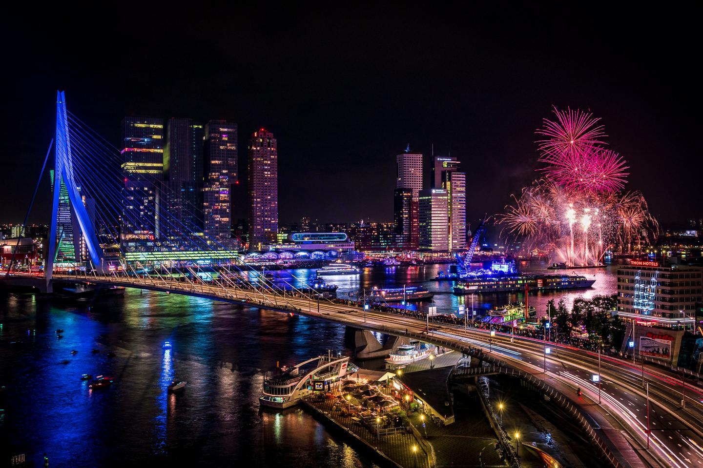 fotograferen tijdens de wereldhavendagen in Rotterdam